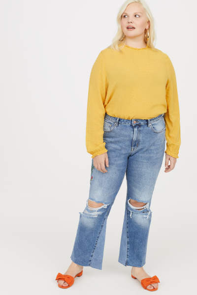 H&M+ Kickflare High Jeans