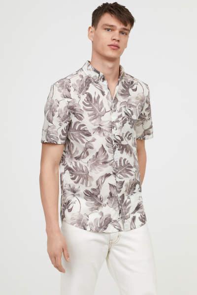 Short-sleeve Shirt Regular fit