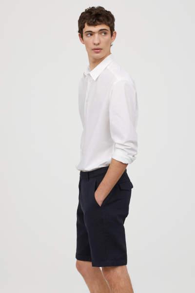 Chino Shorts Skinny Fit