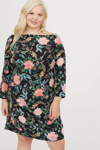 H&M+ Knee-length Dress