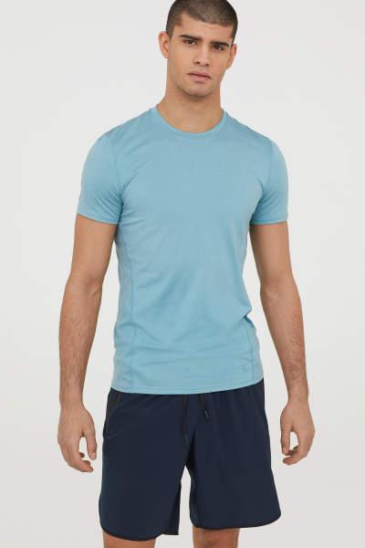 Short-sleeved Sports Shirt