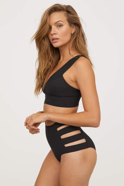 Bikini Bottoms High waist