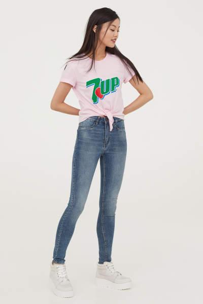 Super Skinny High Jeans