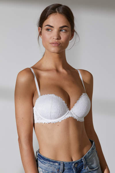 Strapless Super Push-up Bra