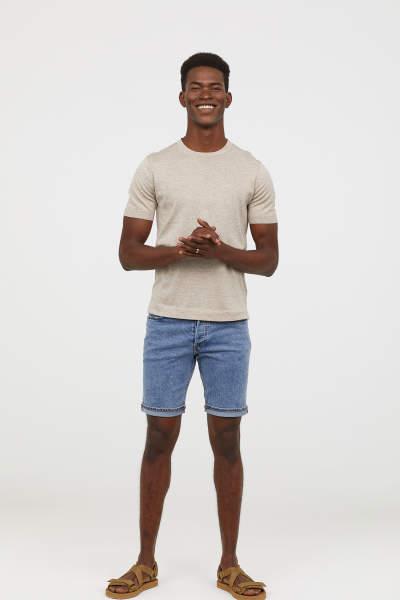 Denim Shorts Slim fit
