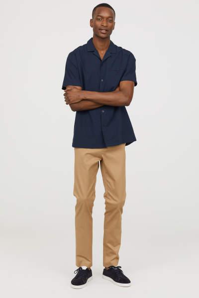 Cotton Chinos Slim fit