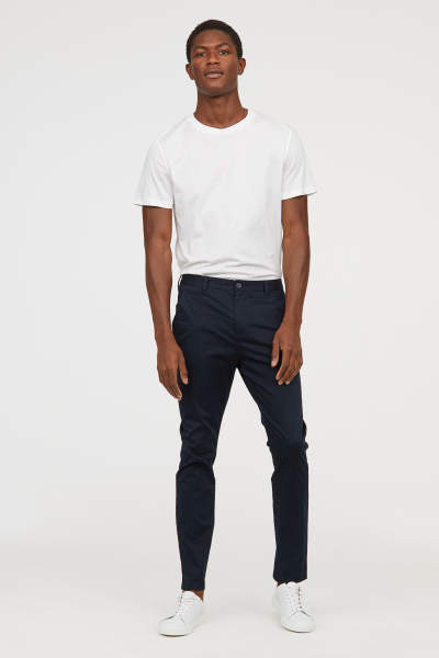 Chinos with Stretch Slim fit