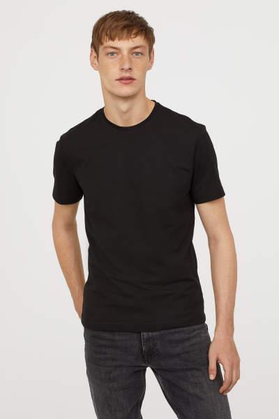 Crew-neck T-shirt Slim fit