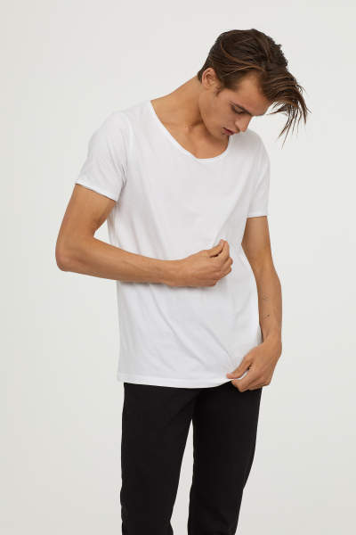 Buy V-neck T-shirt Slim fit!