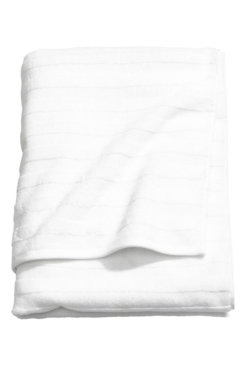 Bath Towel White H M Home H M Us