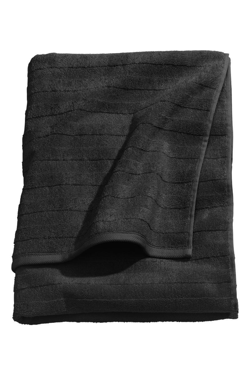 Bath Towel Black H M Home H M Us