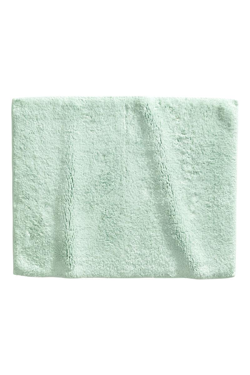 cotton terry bath mat mint green sale h m us. Black Bedroom Furniture Sets. Home Design Ideas