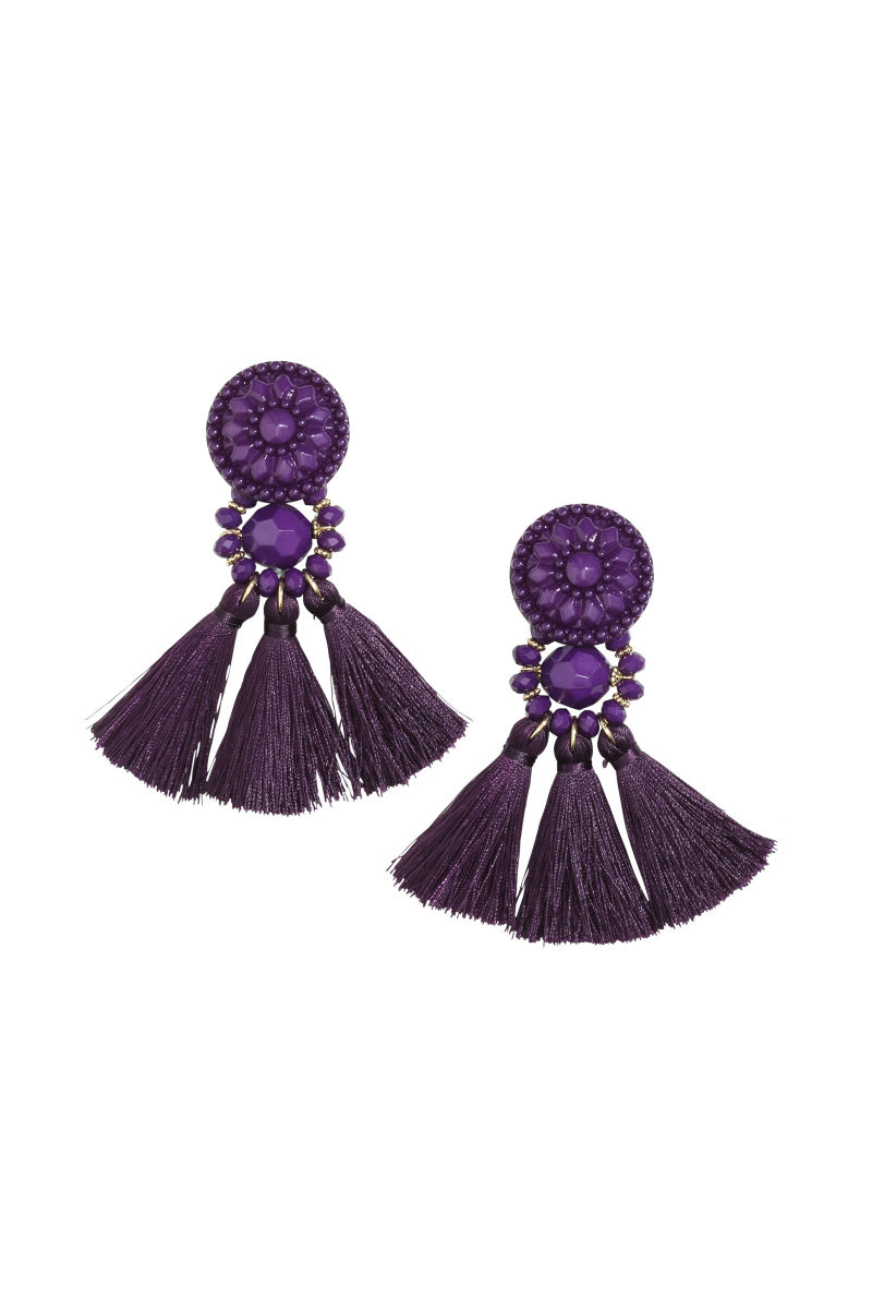 listing turquoise peacock zoom il fullxfull earrings wedding purple earring