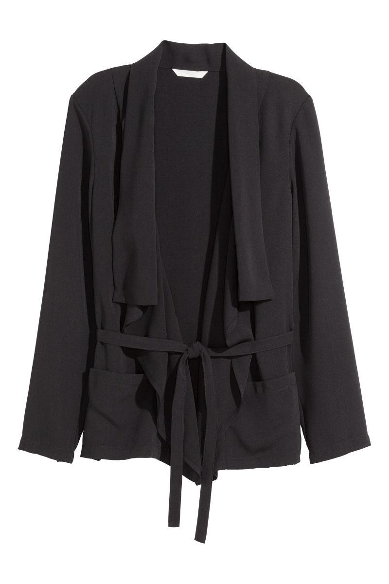 draped s norton com dp drapes contrast back amazon large women womens carbon bcbgmaxazria jacket clothing