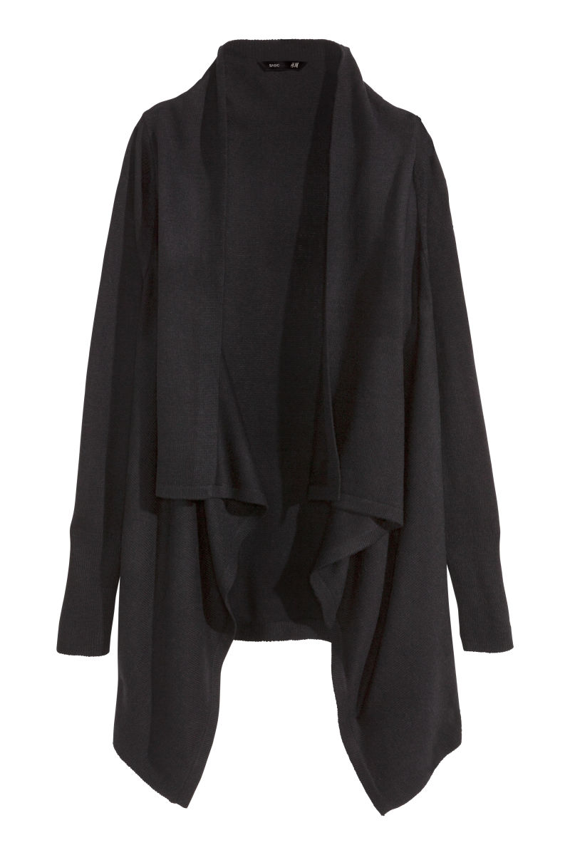 ltd drapes drape fig cardigan product cashmere