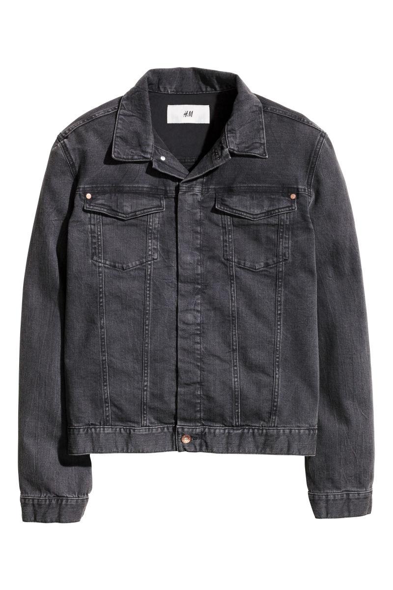 Denim Jacket | Black | SALE | Hu0026M US