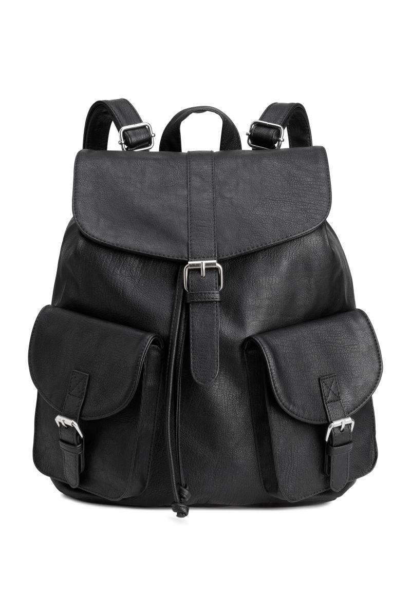 backpack black sale h m us. Black Bedroom Furniture Sets. Home Design Ideas