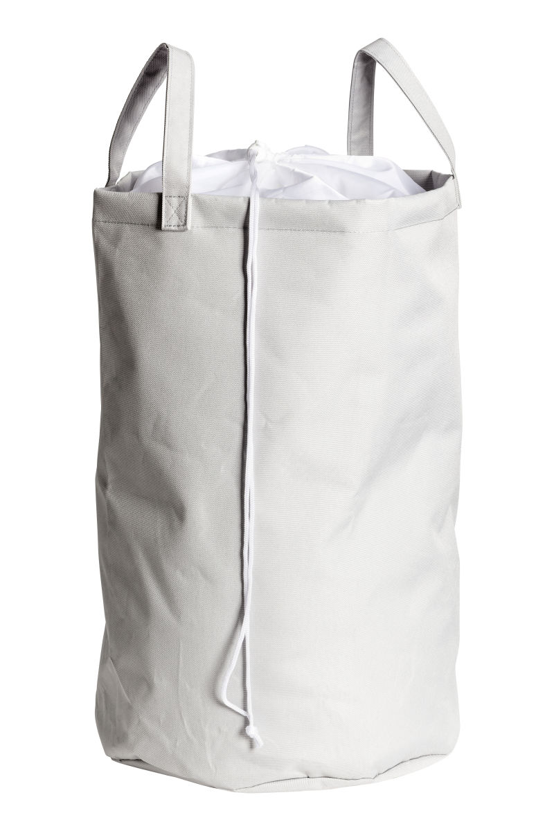laundry bag light gray h m home h m us. Black Bedroom Furniture Sets. Home Design Ideas