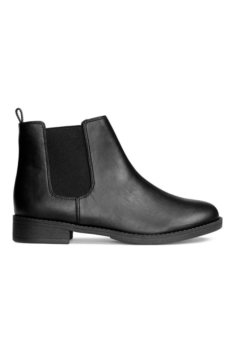 chelsea boots black sale h m us. Black Bedroom Furniture Sets. Home Design Ideas