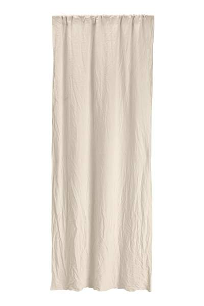 Washed Linen Curtain Panel