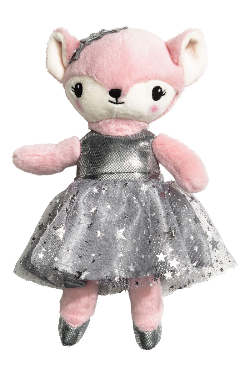 M M Toys Sale : Soft toy light pink silver colored sale h m us