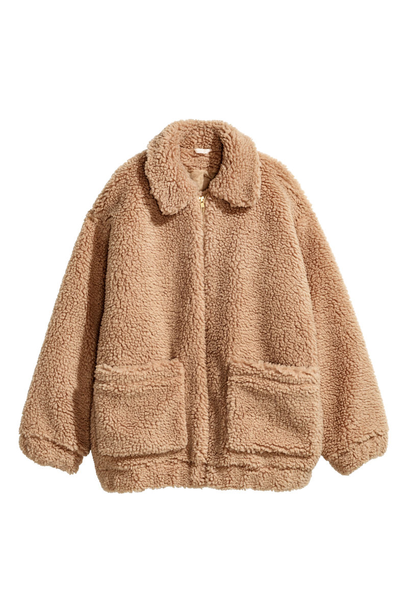 Short Pile Coat Beige Sale H Amp M Us