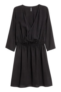 V Neck Dress Black Sale H Amp M Us