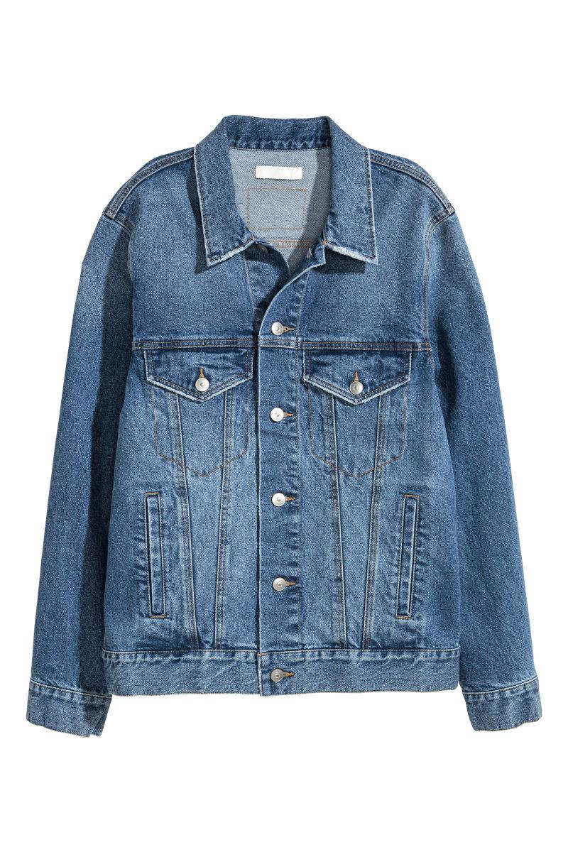 Denim Jacket | Denim blue | WOMEN | Hu0026M US