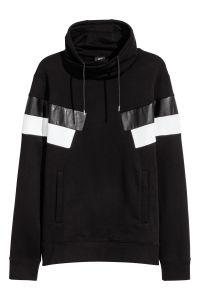 Chimney Collar Sweatshirt Black Sale H Amp M Us