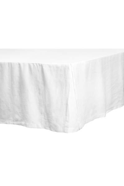 Washed Linen Bedskirt