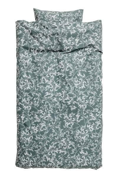Patterned Duvet Cover Set