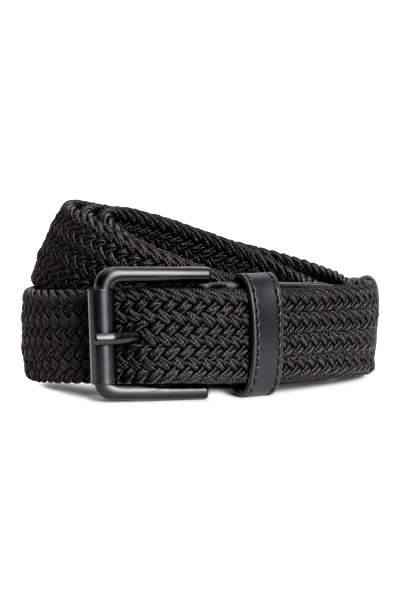 Elasticized Fabric Belt