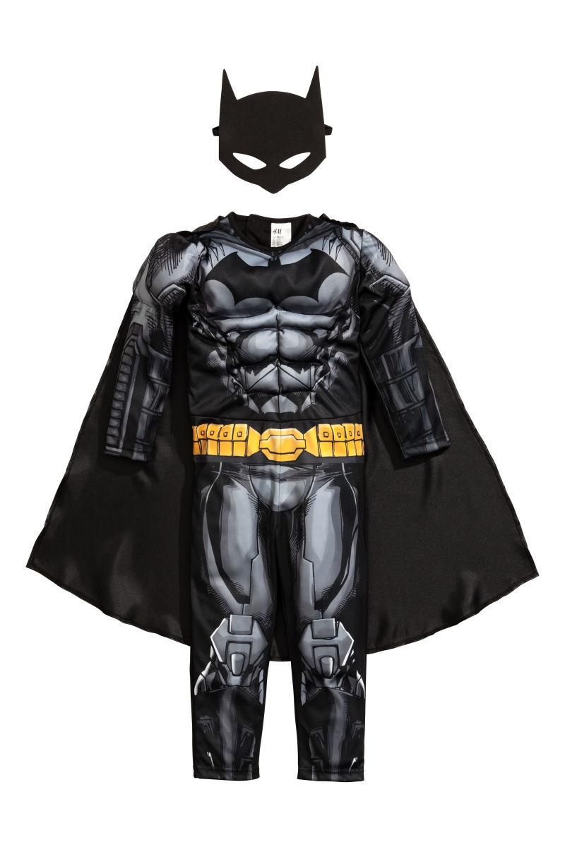 Superhelden-Kostüm | Schwarz/Batman | KINDER | H&M DE