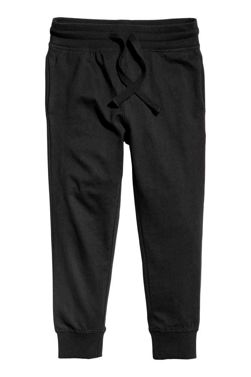 Jogging-style Pants   Black   KIDS