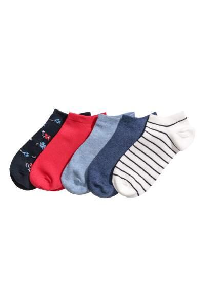5-pack Ankle Socks
