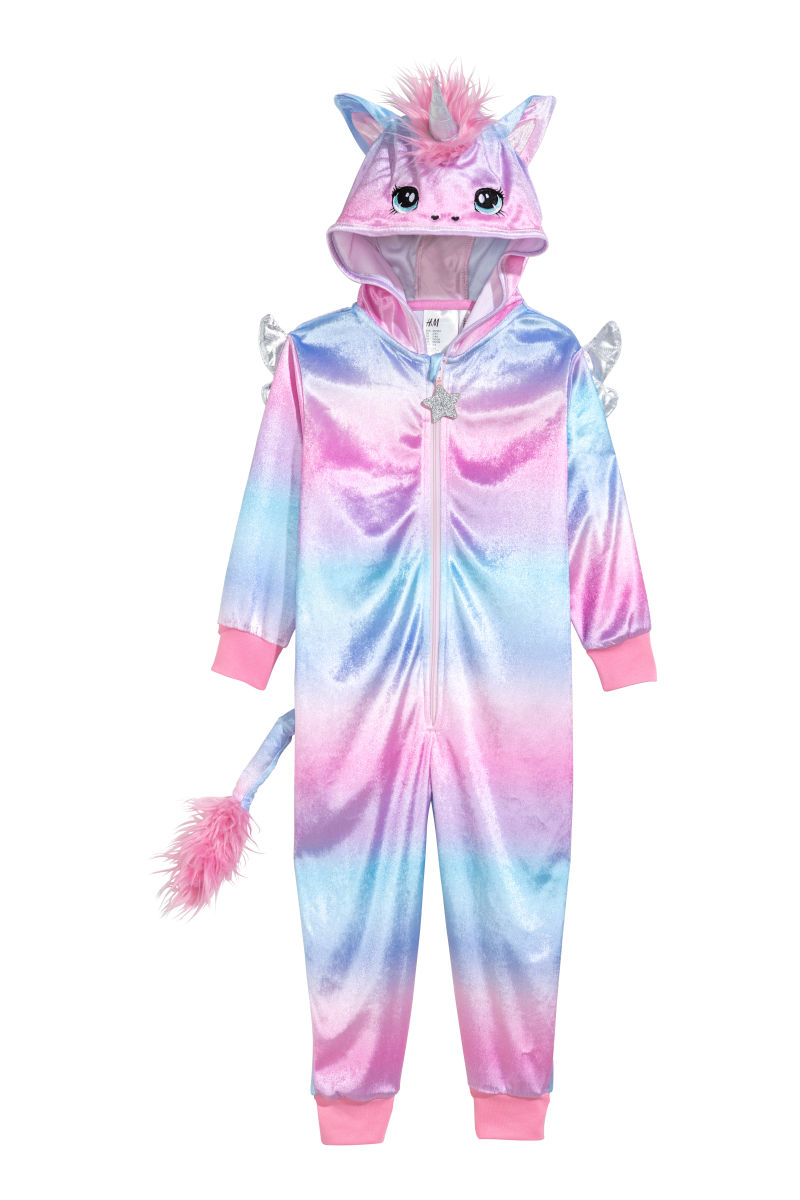 Unicorn costume pink unicorn kids h m us for Chambre unicorn