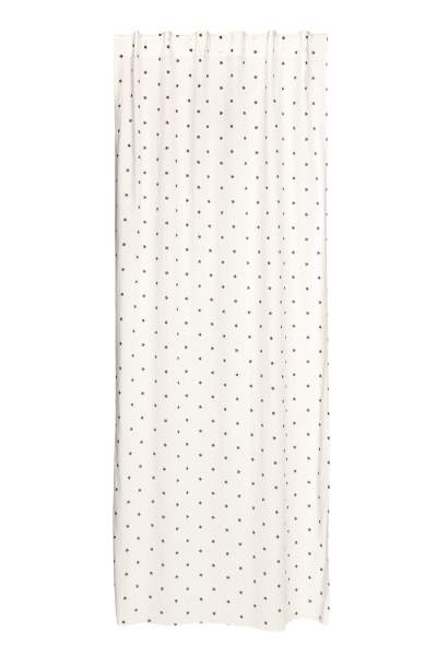 Star-patterned Curtain Panel