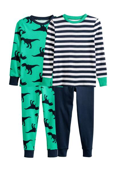 2-pack Jersey Pajamas