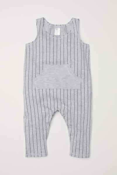 Sleeveless Jersey Jumpsuit