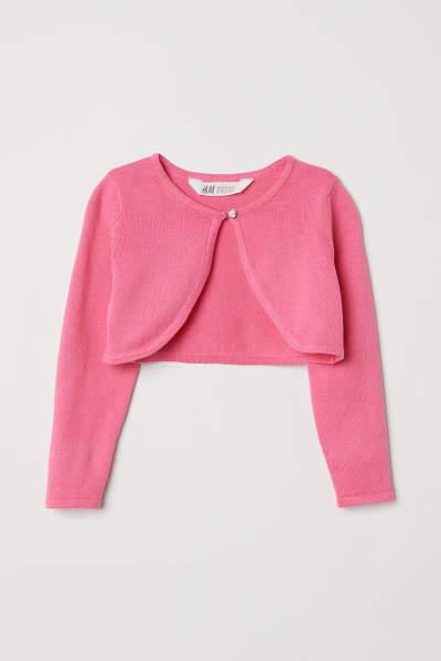 Fine-knit Bolero