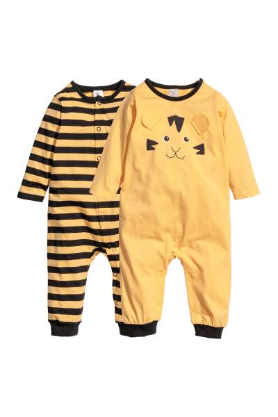 2-pack Jersey Jumpsuits