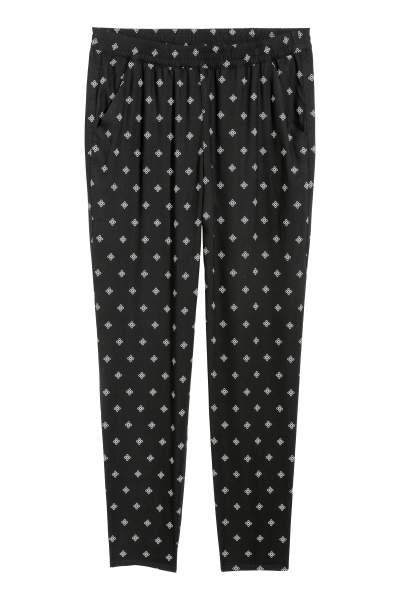 Elasticized Viscose Pants