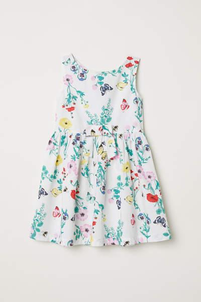 Patterned Cotton Dress