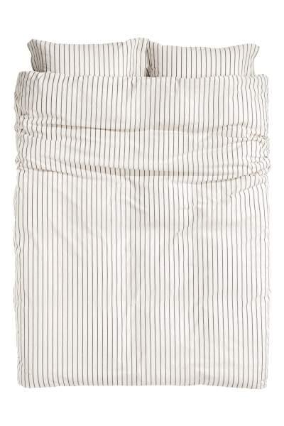 Striped Duvet Cover Set