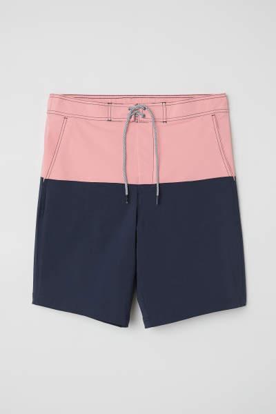 Knee-length Swim Shorts