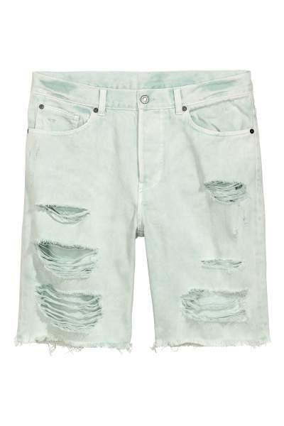 Denim Shorts Trashed