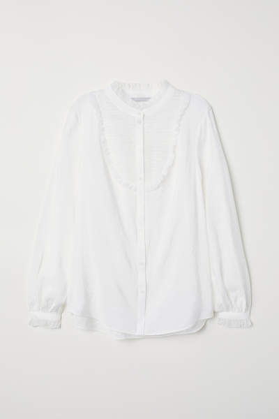 Blouse with Pin-tucks