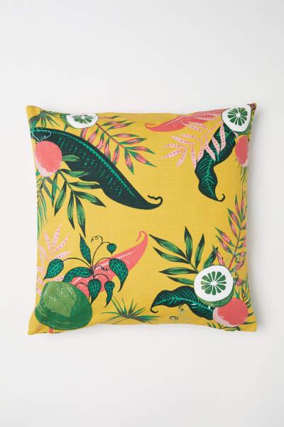 Slub-weave Cushion Cover