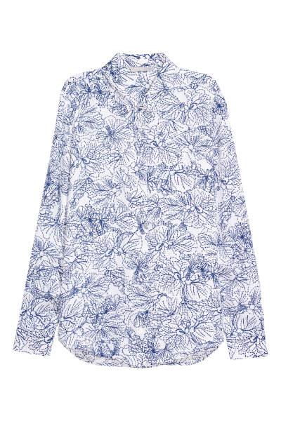 Long-sleeved Blouse