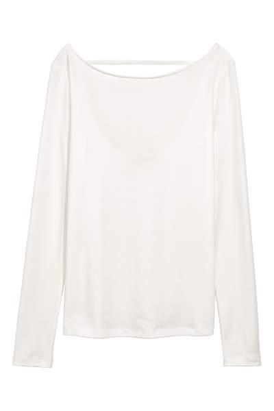 Lyocell-blend Jersey Top